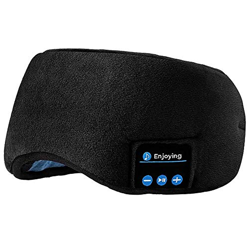 Travel Sleeping Mask,Built-in Speakers |Wireless Mask