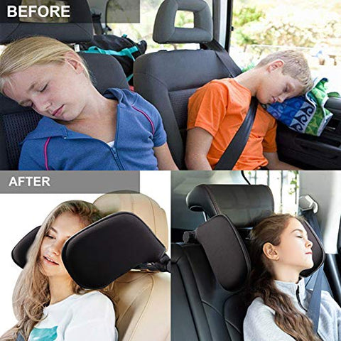 Image of Headrests,Car Neck Pillow, Car Headrest Cushion