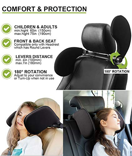 Headrests,Car Neck Pillow, Car Headrest Cushion