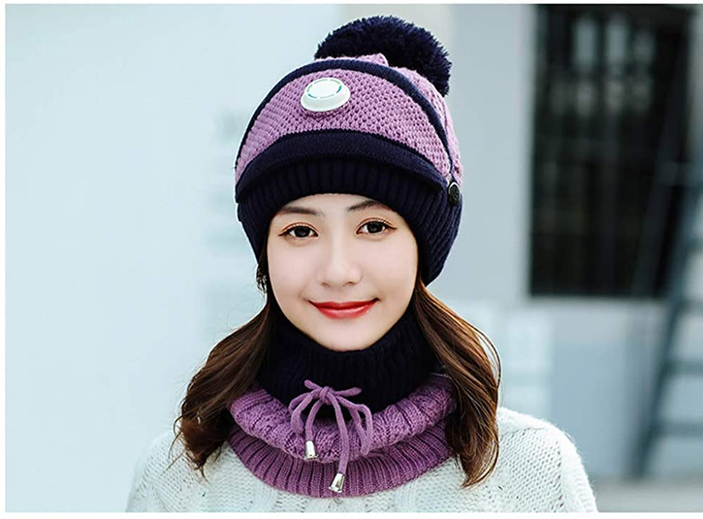 Beanie Knit Hat, Flaps Hat|Pom Cap|Fleece Lined