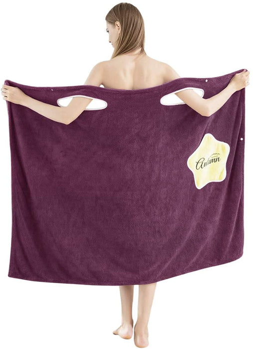 Wearable Bath Towel Absorbent comfortable