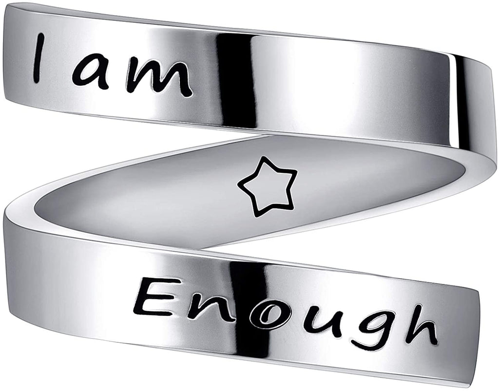 'I Am Enough' Ring
