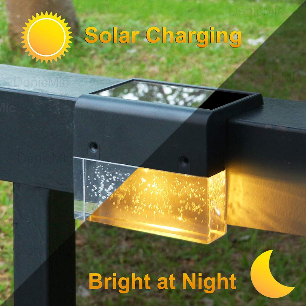 Outdoor Solar Deck Lights Super Bright 2020 Best Decoration - full