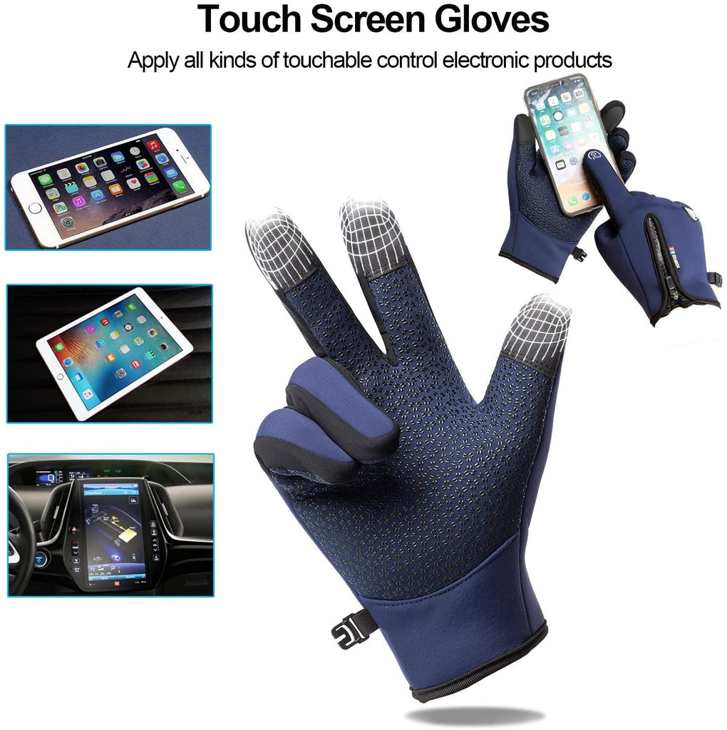 Winter Gloves, Warm Touch Screen Gloves,Thermal Gloves