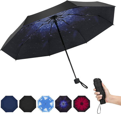 Image of Mini Umbrella Pocket Folding Portable Lightweight Mini Umbrella