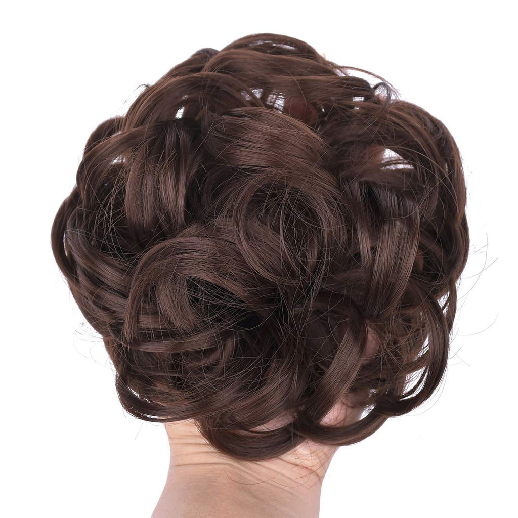 Stylish Hair Scrunchies Hair Buns Extensions Wrap Ponytail Updos