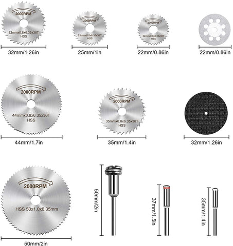 Image of Drill Rotary Tool,Circular Saw Blades| Rotary Tools |Saw Blade