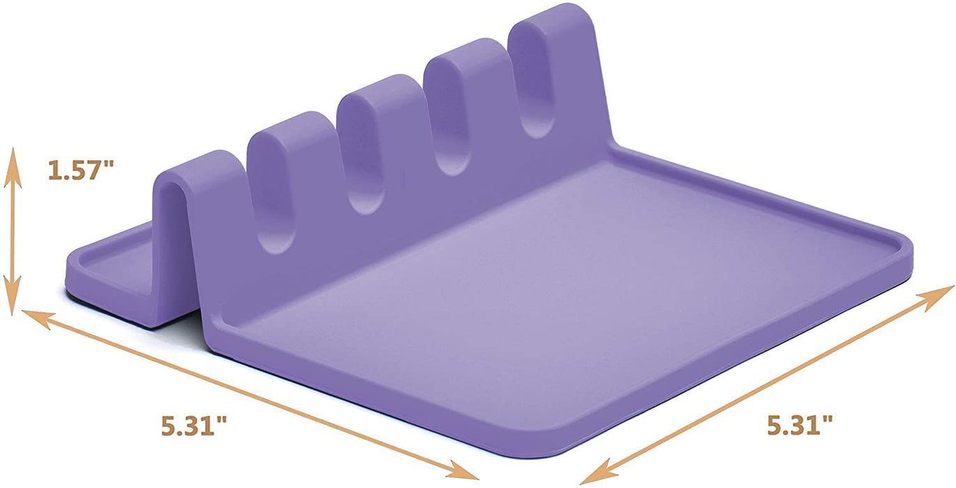 Silicone Utensil Rest, Drip Pad