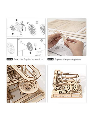 Image of Marble Run Puzzle Craft Toy Gift for Adults & Teen Boys Girls