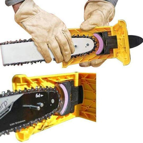 Image of Chainsaw Teeth Sharpener - full