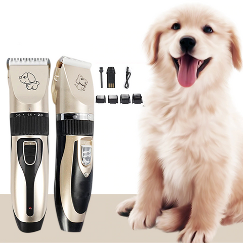 Image of Low Noise Pet Hair Clipper Trimmer