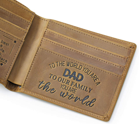Image of RFID Blocking Mens Wallet,Bifold Wallets,Personalized Wallets