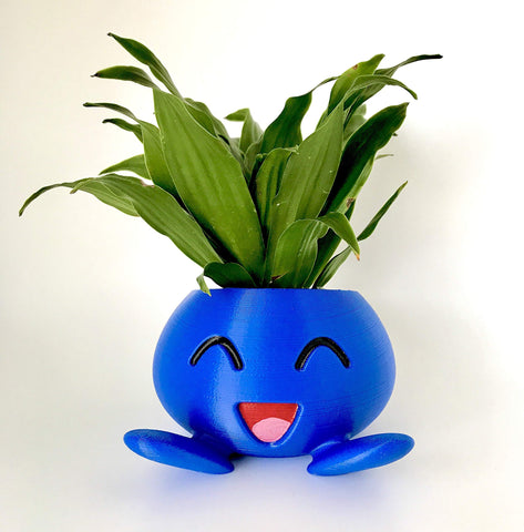 Image of Oddish Planter Flower Pot Gifts for Gamers and Fans