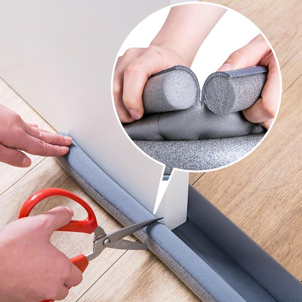Door Draft Stopper Weather Stripping Noise Blocker Door Dust Stopper