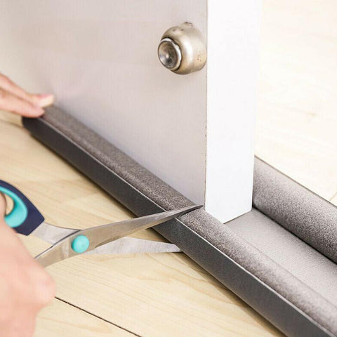 Image of Door Draft Stopper Weather Stripping Noise Blocker Door Dust Stopper