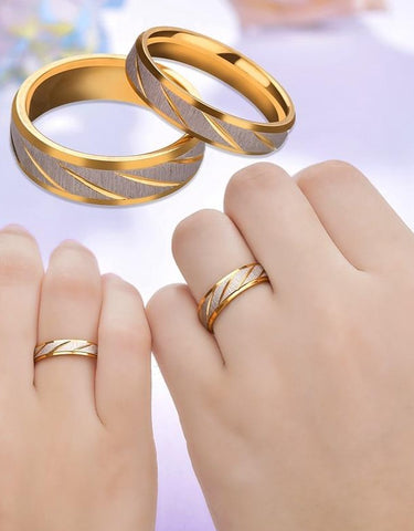 Image of Gold Promise Rings,Wedding Promise Rings|Customized Rings