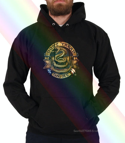 Image of Short Sleeve Hoodies,Dont Tread On Me