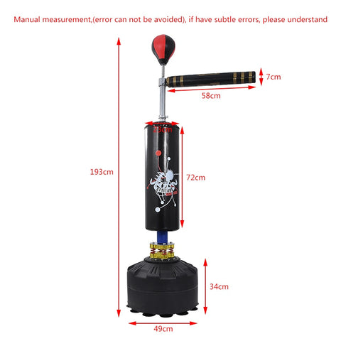 Image of Punching Bag Stand with 360° Reflex Bar