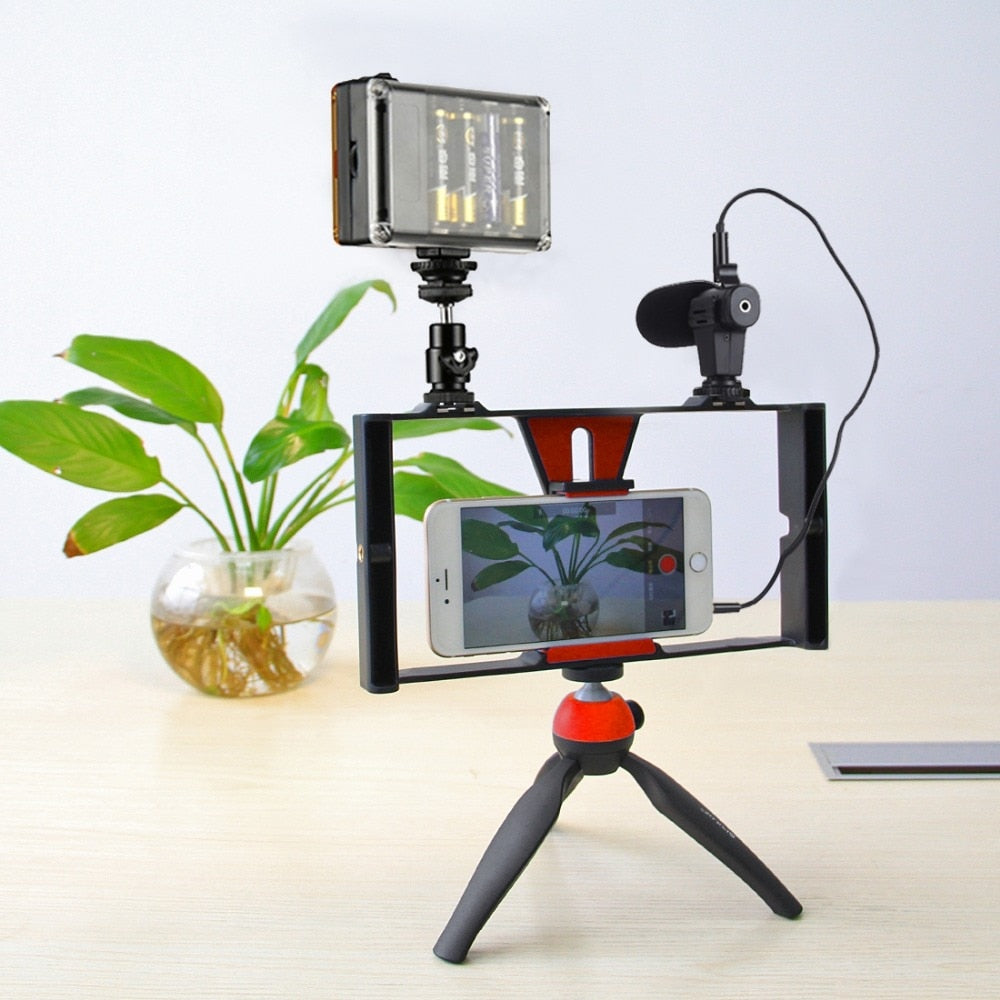 Smartphone Film Making Handled Stabilizer