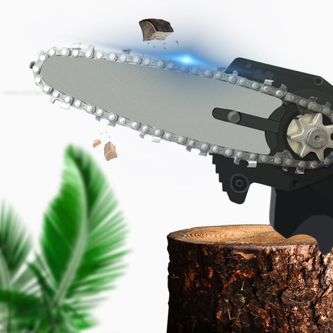 Image of Wood Cutting lithium chainsaw 24V Lithium Battery Portable Electric Pruning Saw Rechargeable