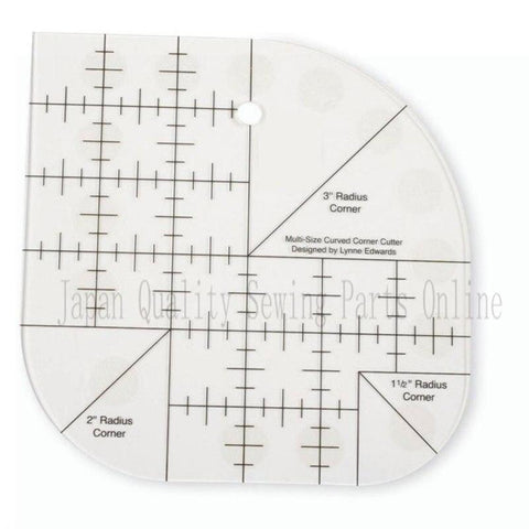 Image of Corner Cutter Quilt Ruler - full