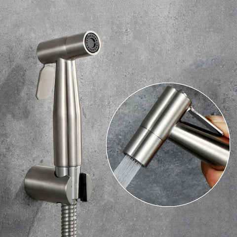 Image of Hand Held Toilet Bidet Sprayer 59 Hose - full