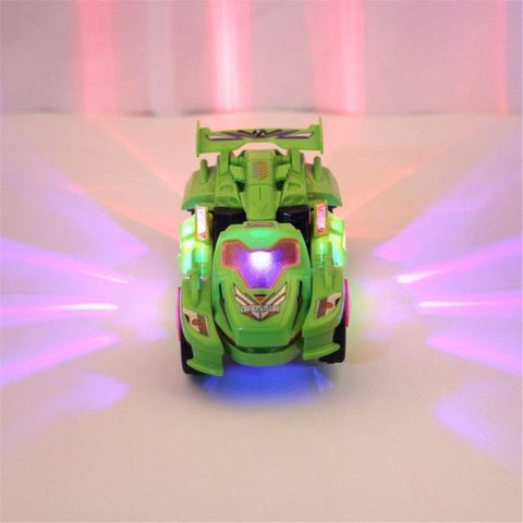 Image of Transforming Dinosaur LED Car - full