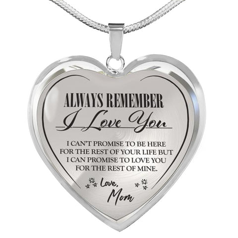 Image of love mom silver