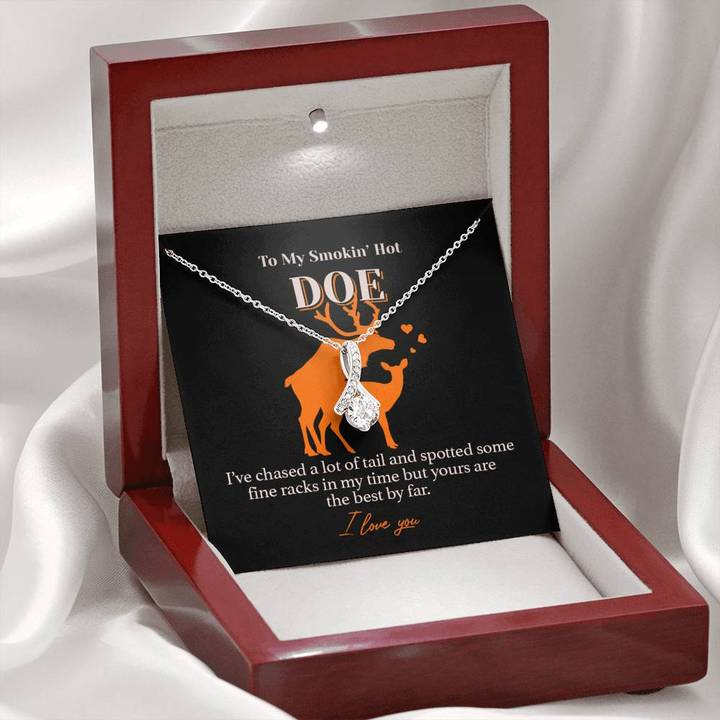 My Hot Doe, I Love You - Necklace