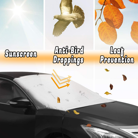 Image of Car Windshield Cover UV Protection - full