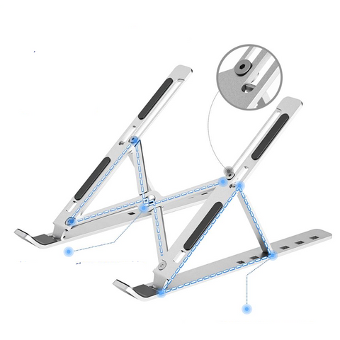 Image of Foldable Laptop Stand Adjustable