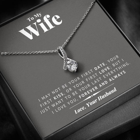 Image of To My Wife Last Everything Necklace