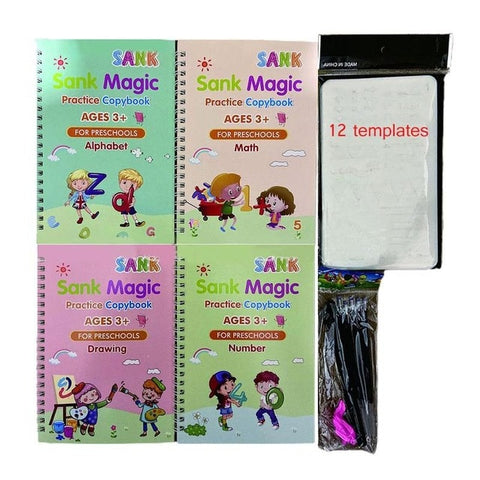 Image of Magic Practice Copybook,Writing Practice Books