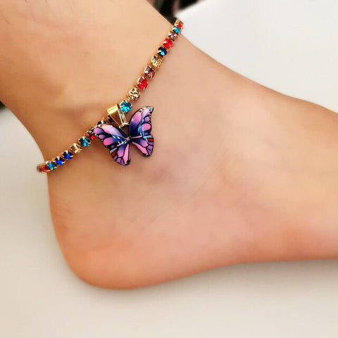 Image of Butterfly Leg Anklet