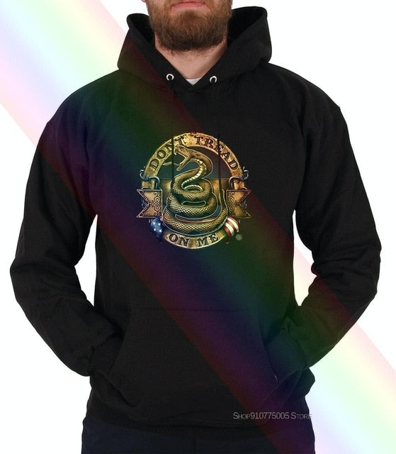 Short Sleeve Hoodies,Dont Tread On Me