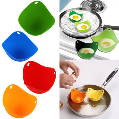 Image of Poached egg Cup,Eggs Poach|Silicone cups
