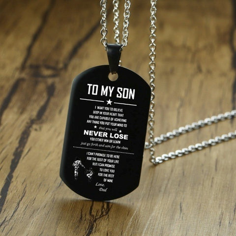 Image of Engraved Pendant - For Everyone