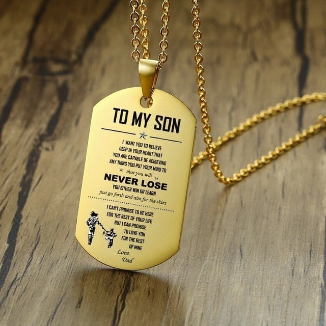 Engraved Pendant - For Everyone