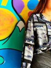Load image into Gallery viewer, Vintage Blouse - 1980's Fish
