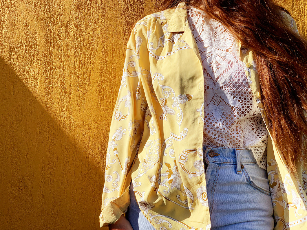 Vintage Blouse - 90's Butter Angel
