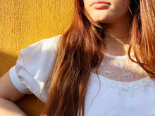 Load image into Gallery viewer, Vintage Blouse - White Lace