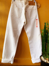 Load image into Gallery viewer, Vintage Levis DEAD STOCK White 501