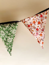 Load image into Gallery viewer, Handmade Vintage Block Print Bunting