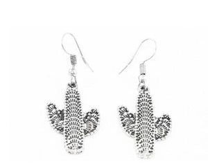 Queen of the Night Cactus Earrings