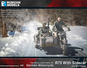 German Motorcycle R75 with Sidecar (ETO) - 280051