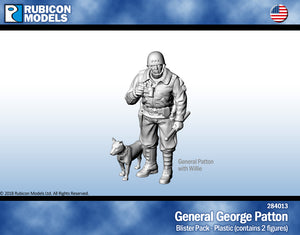 General George Patton with Willie - 284013