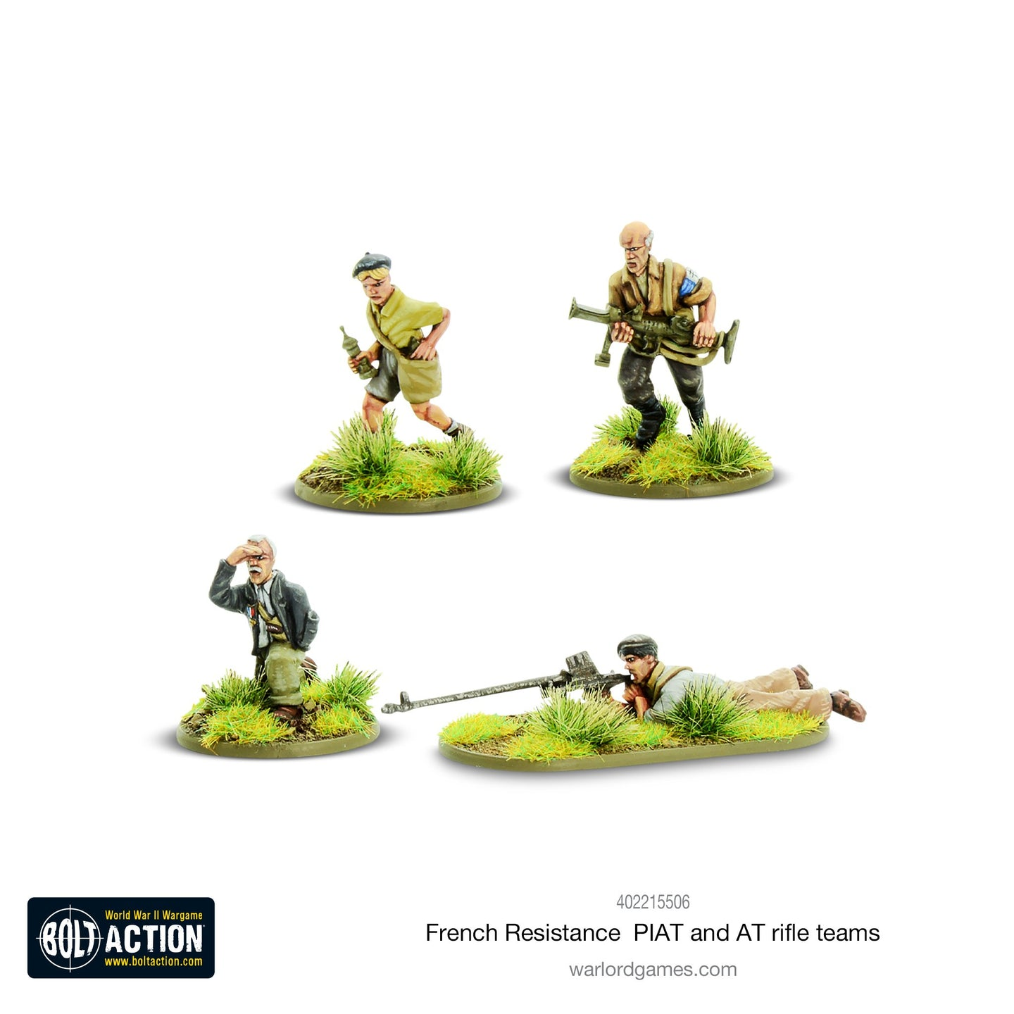 French Resistance PIAT & Anti-tank rifle teams