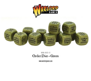 Order Dice Pack - Green