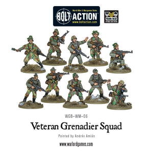 German Veteran Grenadiers Squad