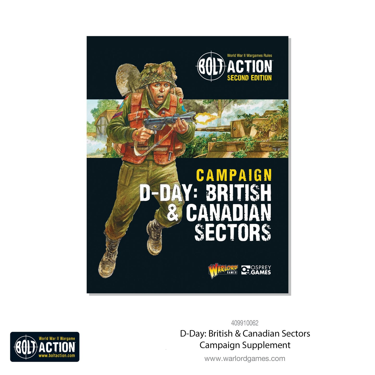 D-Day: British and Canadian Sectors Campaign Book and Miniature